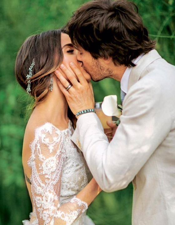 23 best ian nikki images on pinterest cannes film festival ian somerhalder nikki reed wedding kiss junglespirit Images