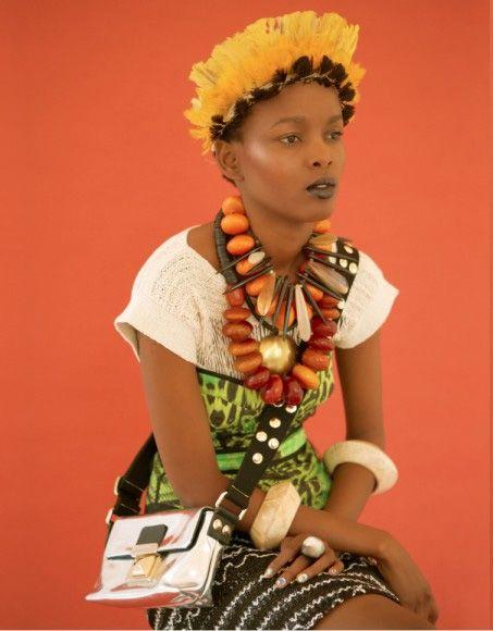 tribal lady | laha magazine photo: jared green