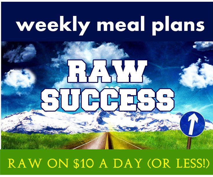 Raw on $10 a Day (or Less!): Raw Food Meal Plans ... for Raw Success!