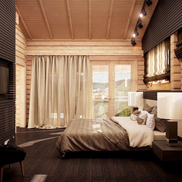 Мебель и предметы интерьера в цветах: темно-коричневый, коричневый, бежевый. Мебель и предметы интерьера в стилях: минимализм, экологический стиль.