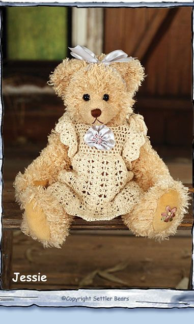 Inverell Collection - Jessie Settler Bears - Leading The World in Dressed Bears