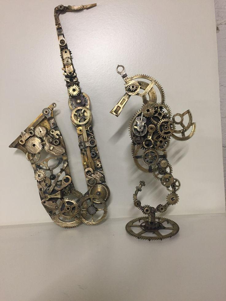Bornholmske urdele lavet om til kunst Jane Marion