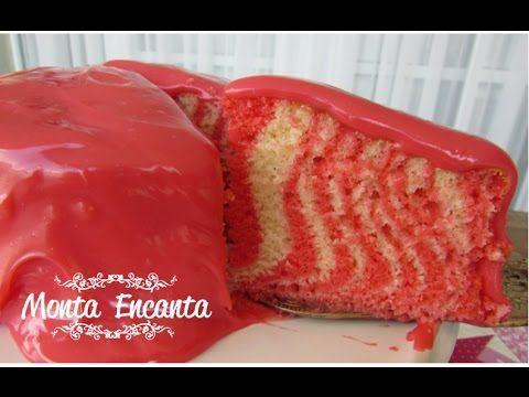 Como fazer bolo zebrado