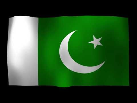 Pakistan Flag 4K Motion Loop After Effects Template   Free HD Video Clip...