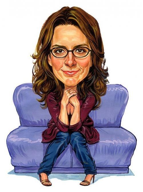 Tina Fey Caricature....