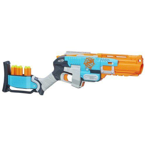 Nerf Zombie Strike Sledgefire Blaster Nerf http://www.amazon.com/dp/B00ILD589G/ref=cm_sw_r_pi_dp_RYvtub1FHYX8M