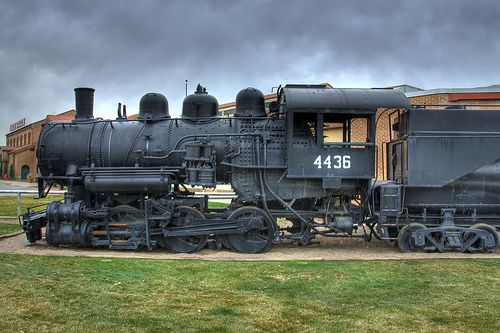 Practically Free:  Train museum at Union Station in Ogden Utah