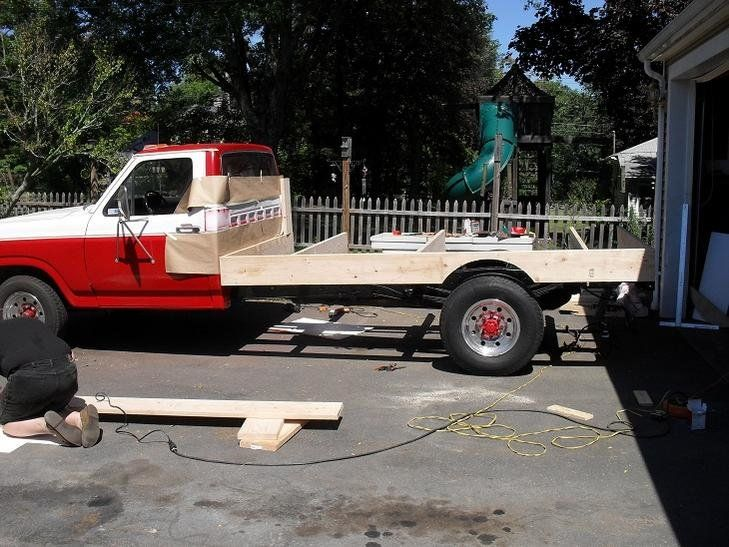 Wood Bed Construction Write Up Ford Truck Enthusiasts