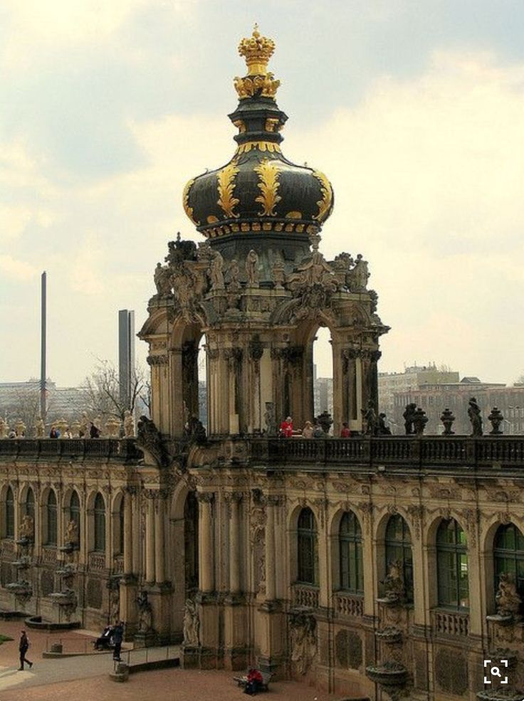 Zwinger Palace, Dresden, Germany