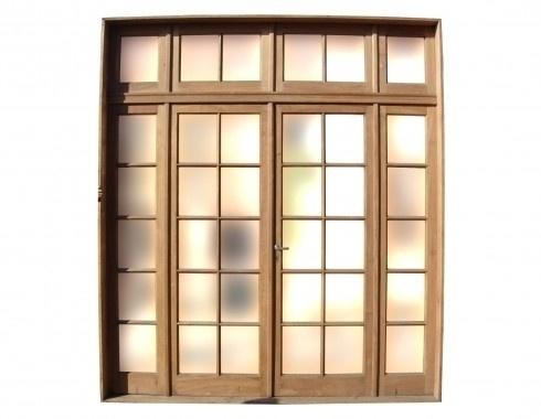 29 best bedroom doors images on pinterest bedroom doors for Double french doors with sidelights