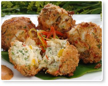 Blue Crab Fritters - Florida Department of Agriculture and Consumer Services