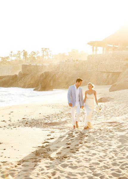 sandy toes and salty kisses - wedding on the beach at Esperanza Resort  www.esperanzaresort.com