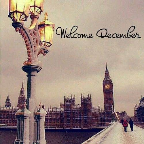 Welcome December Tumblr Pictures
