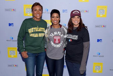 Tamron Hall, Soledad O'Brien, and Robin Roberts - Celebrity Photos of The Week: Apr 30 - May 6