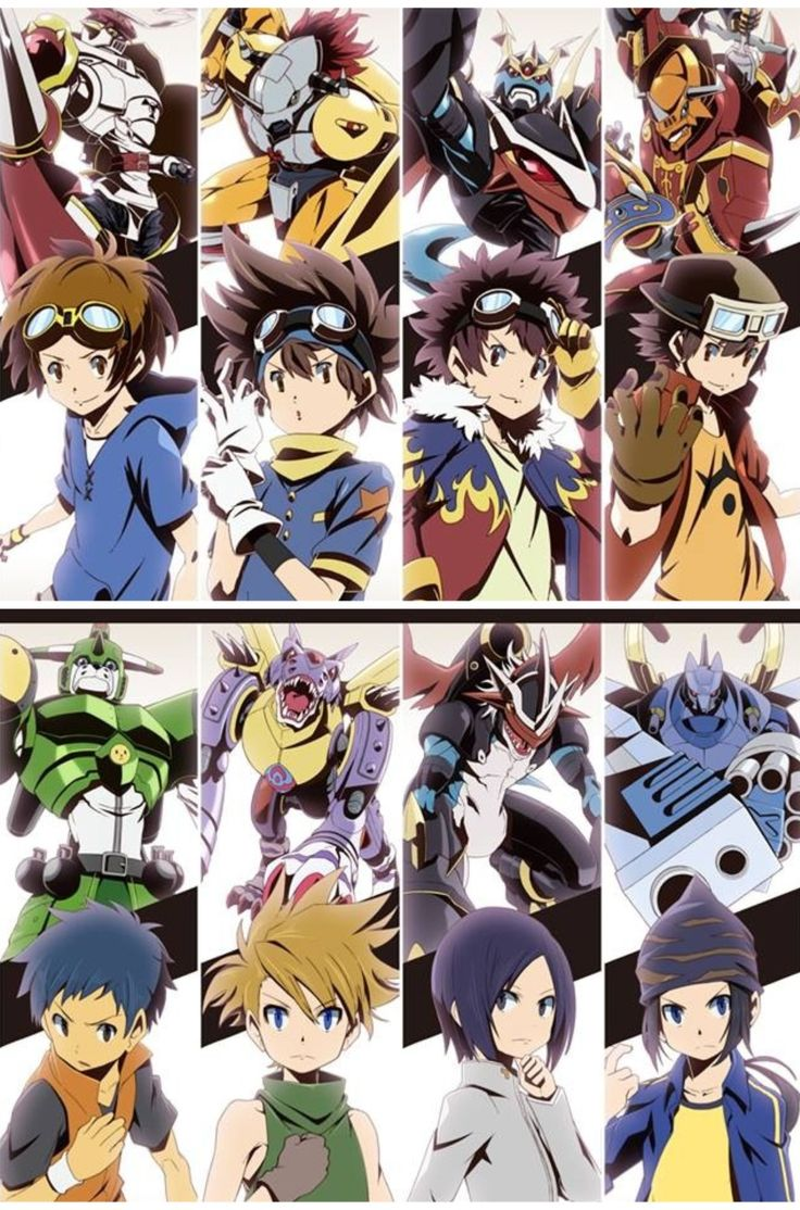 the captains. Digimon!