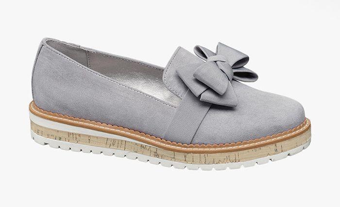 Gra Loafers Fran Deichmann Skor Loafers Sneakers