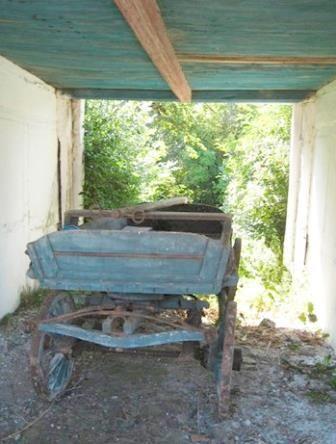 Old wagon, Æblegaarden B&B, Langeland, Denmark, www.aeblegaarden.dk