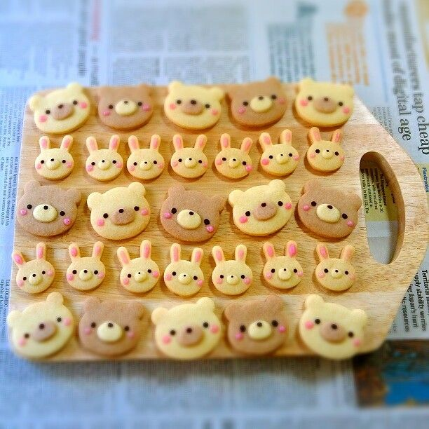 Anime club activity? Could have cookie wars or be part of a bento making competition. animal cookies