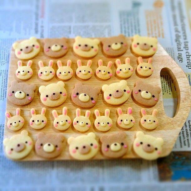 Japanese cookies *Bear