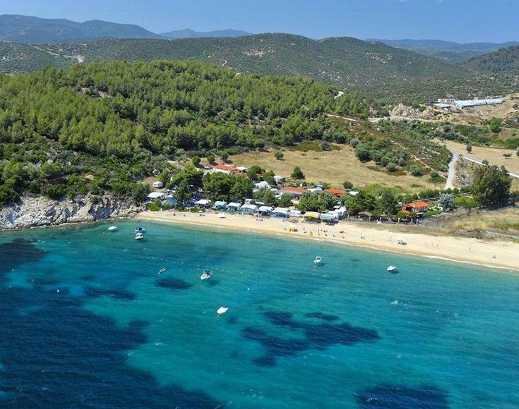 Tristinika beach Chalkidiki, Greece