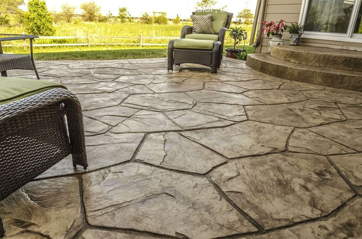 Orchard Stone Stamp Patio
