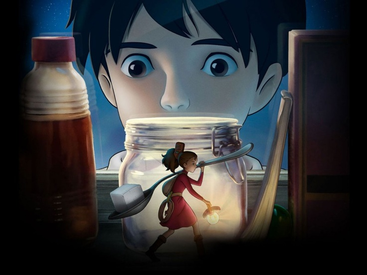 free  film the secret world of arrietty sequel