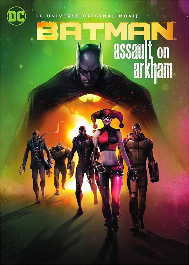 BATMAN ASSAULT ON ARKHAM DCU DVD