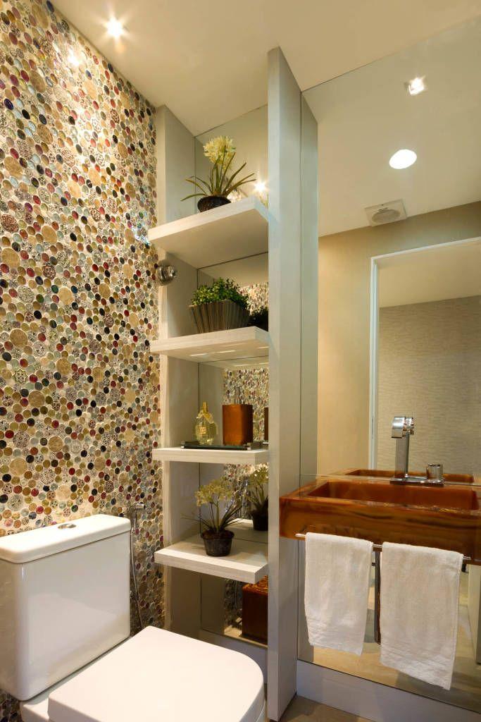 10 ideas de repisas ¡geniales para baños pequeños! (De Alexia Lefebvre Basedow)
