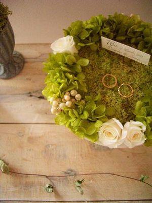 【ナチュラル】鳥の巣をイメージしたリングピロー【結婚式】 - NAVER まとめ