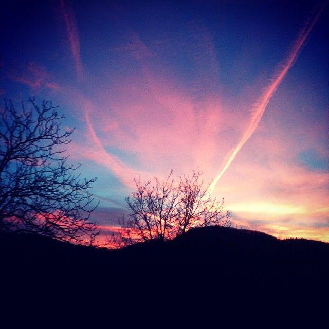 #beiguashire #tramonto #gennaio #inverno #trapocopizza