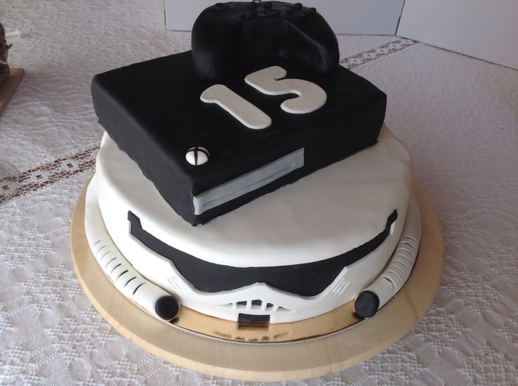 For boys.... Stormstopper and xbox one cake