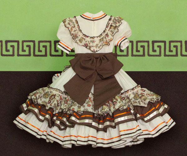 Confecciones Caldera Adelita De Niña 5 Vestidos