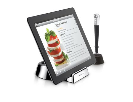 This Belkin Chef Stand And Stylus Works With Any Tablet