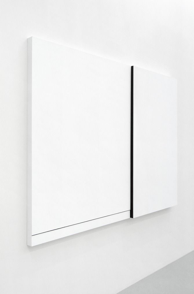 Anders Bulow | Untitled, 2011 | acryllic and marblesand on mdf