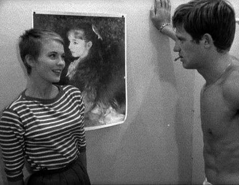 A BOUT DE SOUFFLE - a favorite. I have a never ending hair crush on jean seberg.