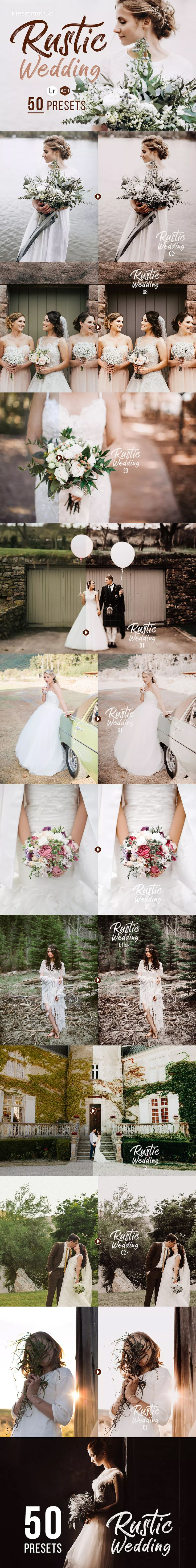 Rustic Wedding Presets For Lightroom Photo