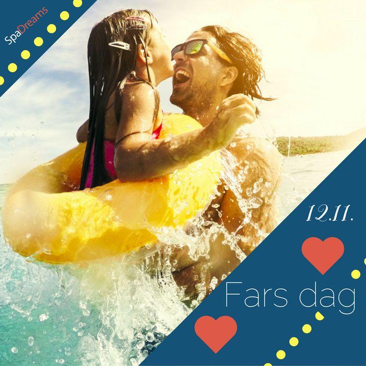 ☀️Idag firar vi alla pappor, det är fars dag 💖Varför gör du inte din pappa extra glad och ger honom en fin resa i present? ☀️ #farsdag #pappa