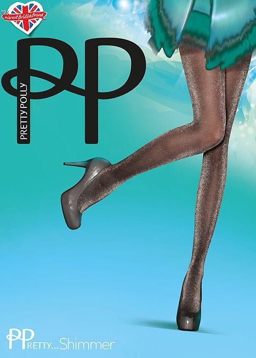 Pretty Polly Pretty Shimmer Sheer Lurex Tights