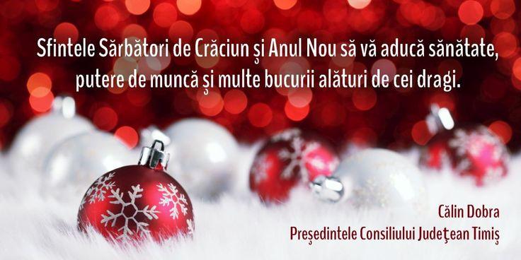 Cu ocazia sfintelor sărbători ale Nașterii Domnului, Ziarul Actualitatea vă doreşte tot ce e mai frumos şi bun în lume! Să aveţi parte de iubire, [...]