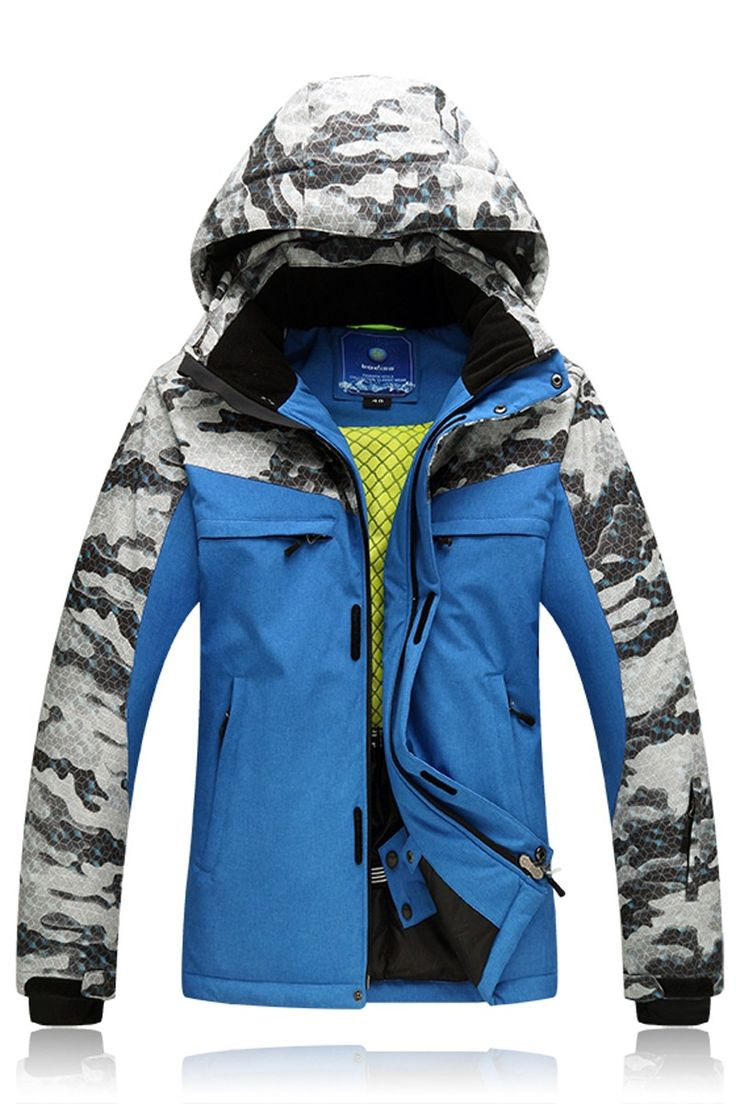 ==> [Free Shipping] Buy Best Men Ski Jacket New Style Windproof Waterproof Outdoor Sport Wear Camping Riding Skiing Snowboard Male Super Warm Clothing Male Online with LOWEST Price | 32770105575