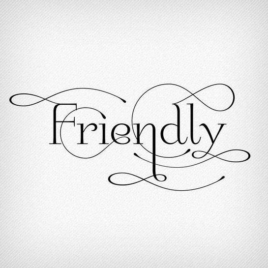 Friendly by Neil Summerour. A typeface that is perfect for weddings.