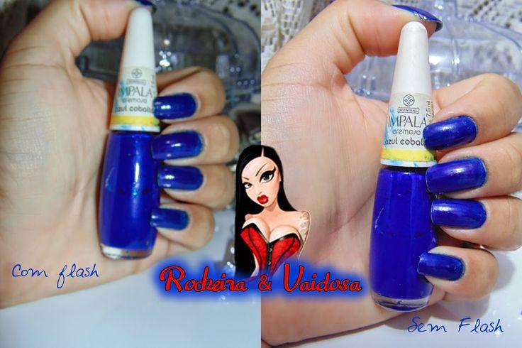 Esmante Azul cobalto da Impala ~ Rockeira e Vaidosa