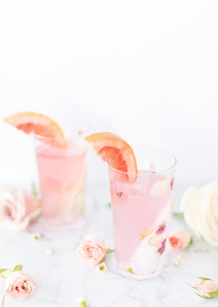 Smoking Rose Paloma cocktail with Q drinks grapefruit| Craftandcocktails.co