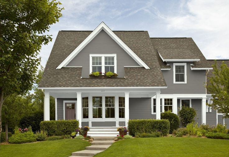 Benjamin moore chelsea gray house exterior ideas pinterest colors benjamin moore and gray - Grey exterior house paint ideas ideas ...