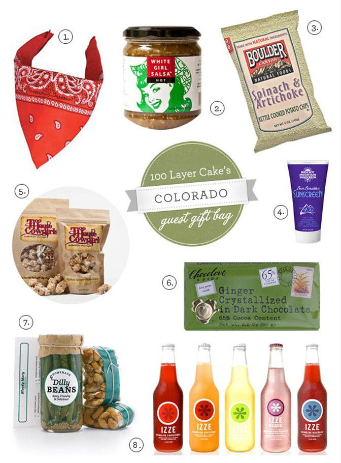 Colorado gift-basket for out-of-towners