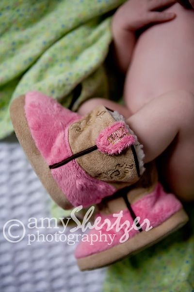 Cute... they are cowgirl boots and a blend of slippers for babies!                                                                                                                                                     More