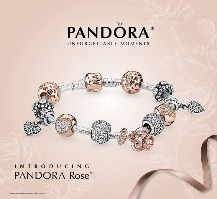 Rose gold pandora schmuck
