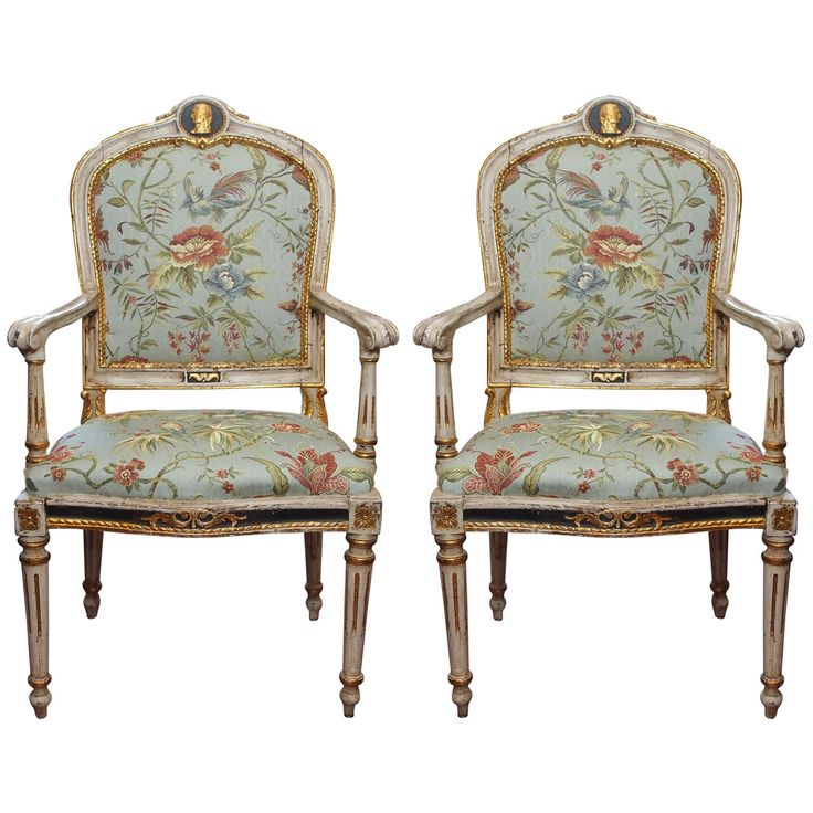 For Sale on   Pair of Period Louis XVI painted and parcel gilt Italian  armchairs with Lyon Silk century 610 best Louis XVI and Louis XVI Style Furniture images on  . Louis Xvi Style Furniture For Sale. Home Design Ideas