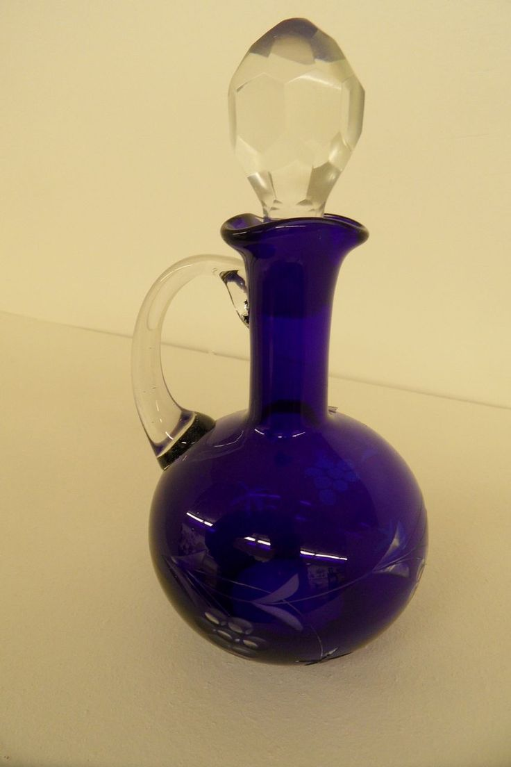 best cruets images on pinterest  antique glassware carnival  - vintage glass cruets  wonderful color we are offering this vintage cutglass cruet which