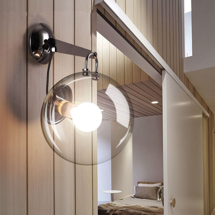Mejores 50 imgenes de wall lamps en pinterest lmparas de pared find more wall lamps information about modern wall lamp glass globe wall sconces luminaire kitchen fixtures aloadofball